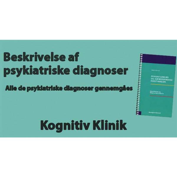 Gennemgang af alle de psykiatriske diagnoser